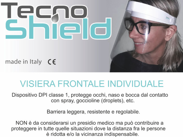 Visiera frontale individuale